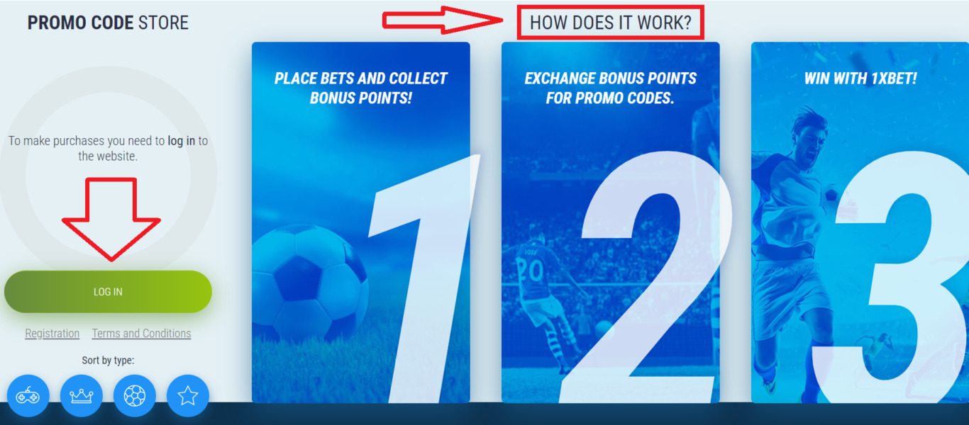 How to get 1xBet free promo code